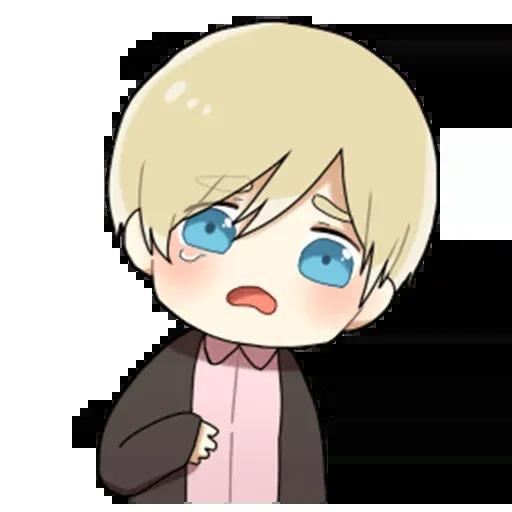 Obediente Blond boy - Sticker 7