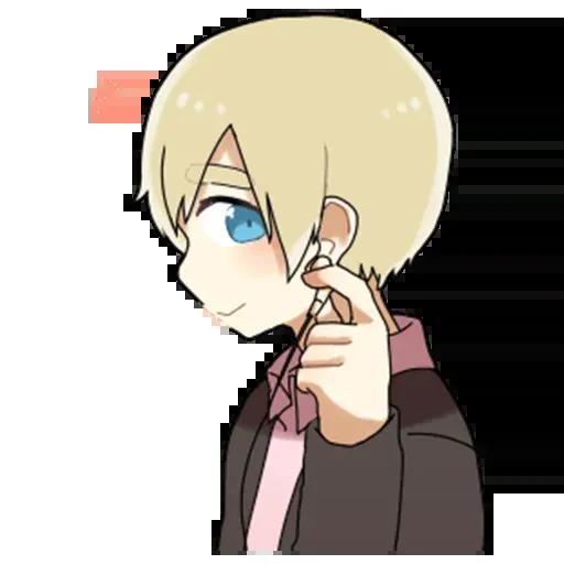 Obediente Blond boy - Sticker 28