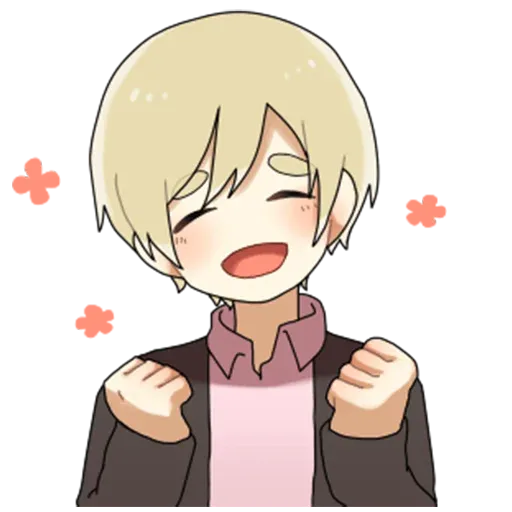 Obediente Blond boy - Sticker 5