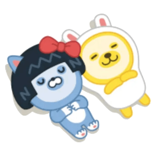 撚撚的Little Friends 2 - Sticker 9