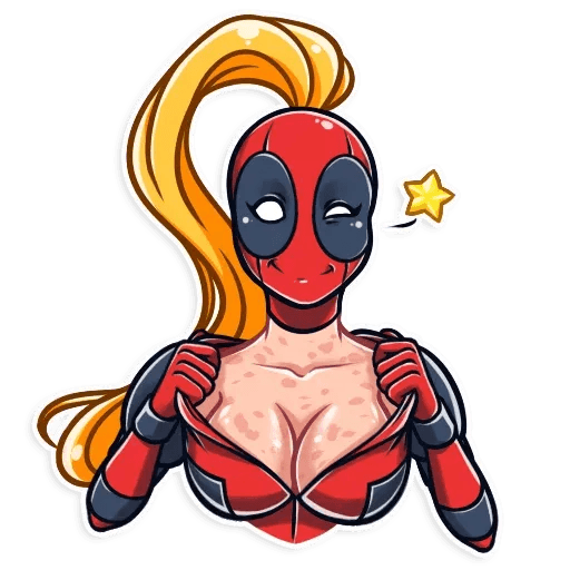 Lady Deadpool - Sticker 2