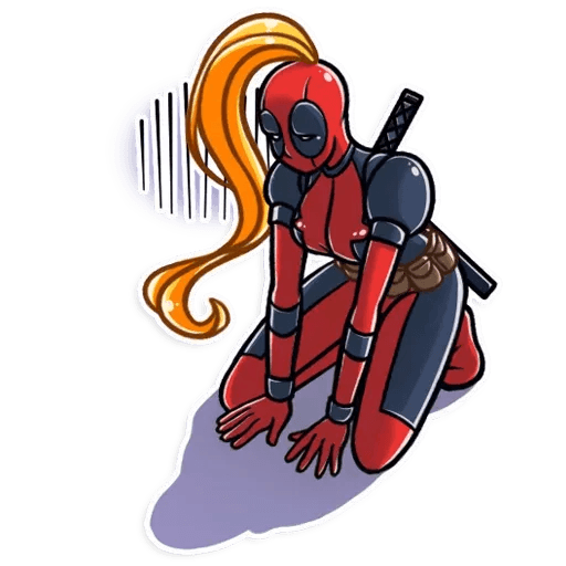 Lady Deadpool - Sticker 28
