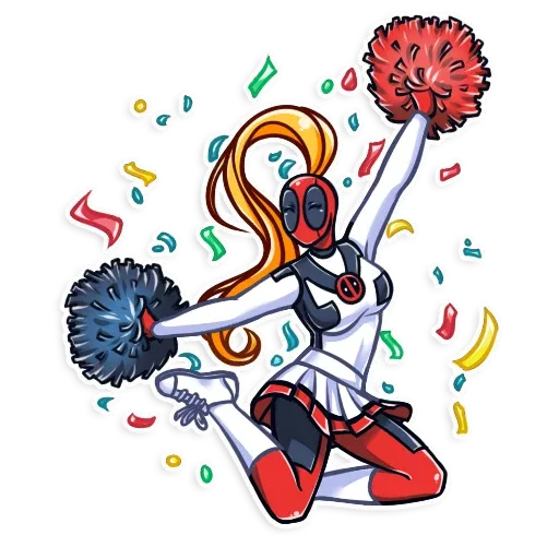 Lady Deadpool - Sticker 25