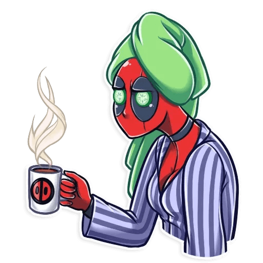 Lady Deadpool - Sticker 24