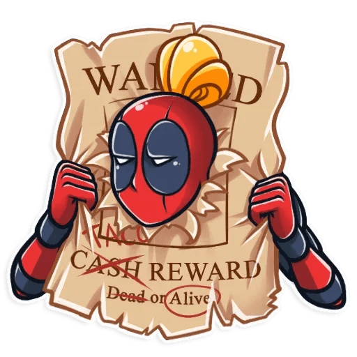 Lady Deadpool - Sticker 6