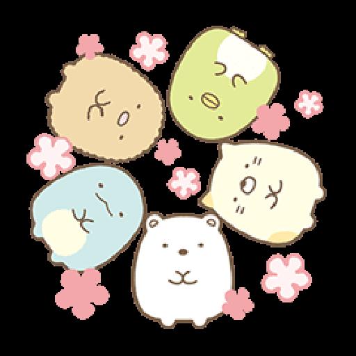 とびだす♪すみっコぐらし - Sticker 12