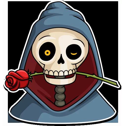 Skeleton - Sticker 1