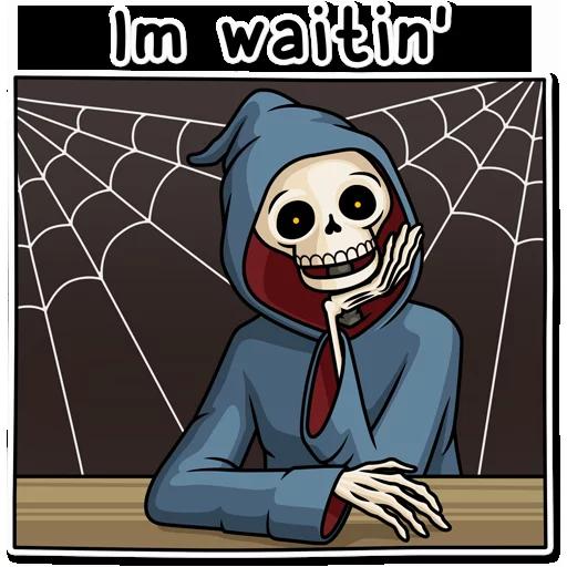 Skeleton - Sticker 8