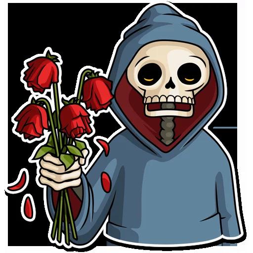 Skeleton - Sticker 5