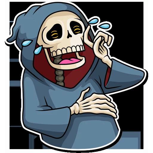 Skeleton - Sticker 3