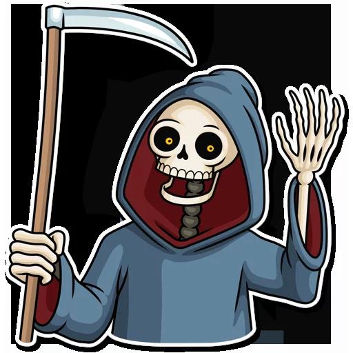 Skeleton - Sticker 2