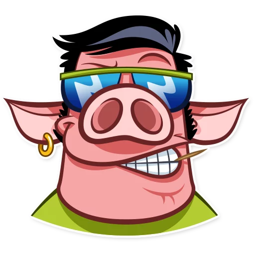 Pete pig - Sticker 9