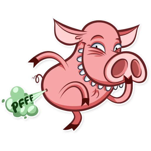 Pete pig - Sticker 8