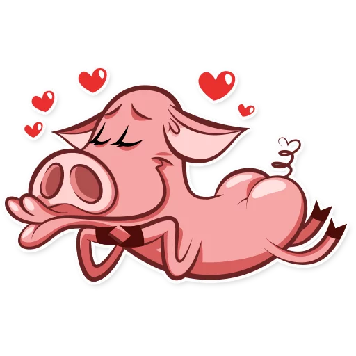 Pete pig - Sticker 2