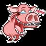 Pete pig - Tray Sticker