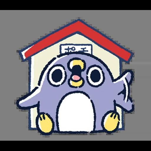 肥企鵝的內心話5 (1) - Sticker 1