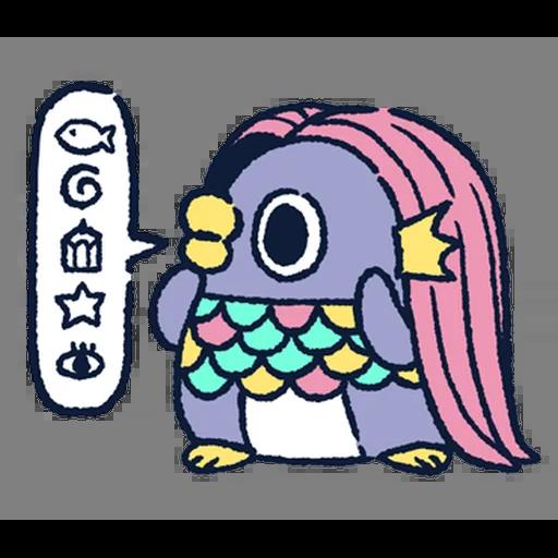 肥企鵝的內心話5 (1) - Sticker 4