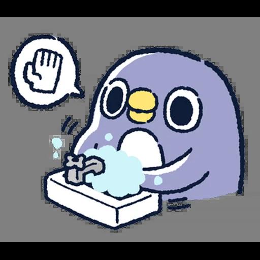 肥企鵝的內心話5 (1) - Sticker 2