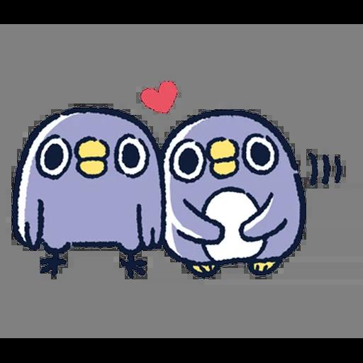 肥企鵝的內心話5 (1) - Sticker 5