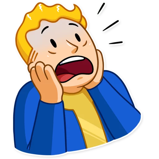 Unofficial Fallout Vault Boy (2/2) - Sticker 6