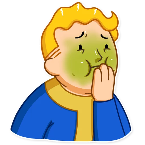 Unofficial Fallout Vault Boy (2/2) - Sticker 7