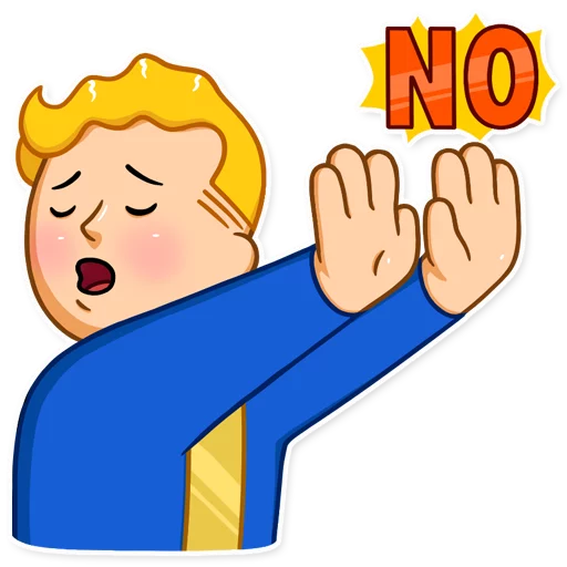 Unofficial Fallout Vault Boy (2/2) - Sticker 5