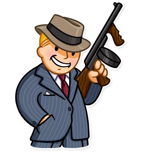 Unofficial Fallout Vault Boy (2/2) - Sticker 9