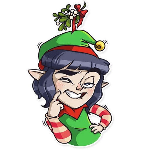 Santa's Little Helper - Sticker 15