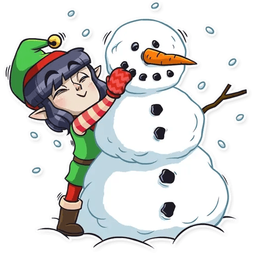 Santa's Little Helper - Sticker 23