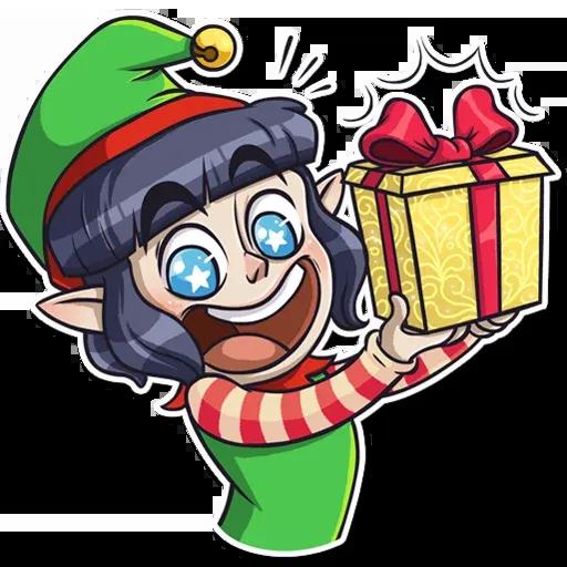Santa's Little Helper - Sticker 26