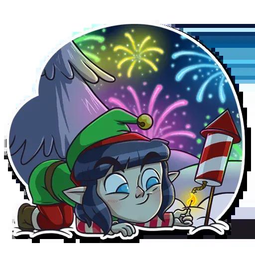 Santa's Little Helper - Sticker 21