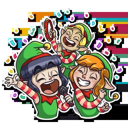 Santa's Little Helper - Sticker 13
