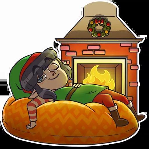 Santa's Little Helper - Sticker 18