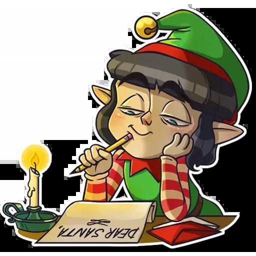 Santa's Little Helper - Sticker 24
