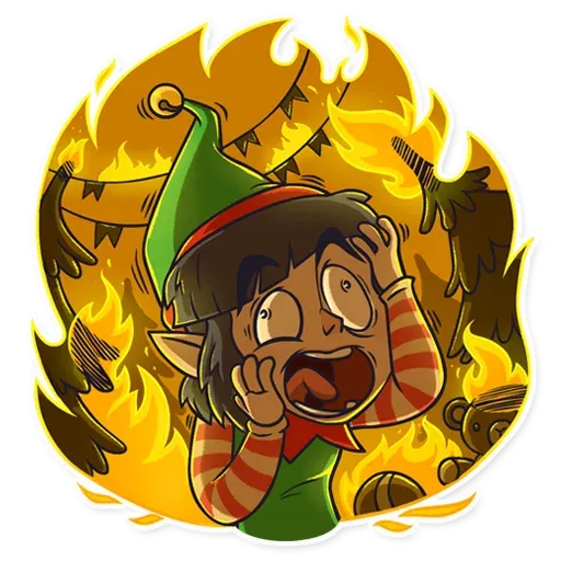 Santa's Little Helper - Sticker 12