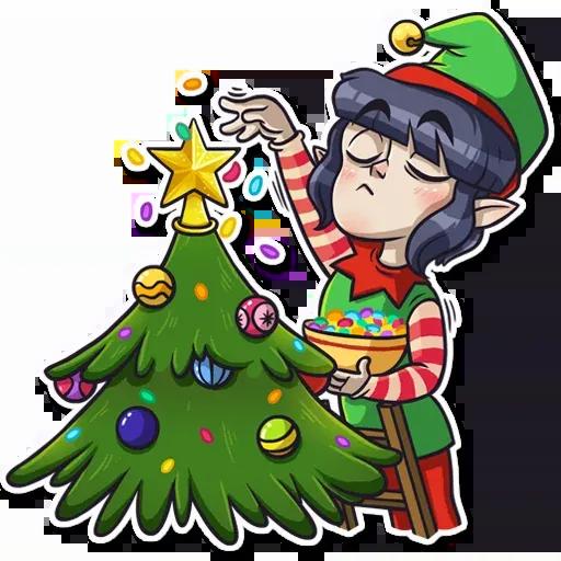 Santa's Little Helper - Sticker 7