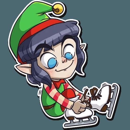 Santa's Little Helper - Sticker 8