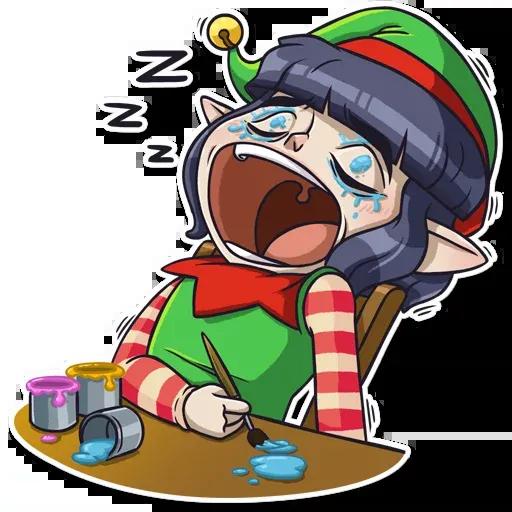 Santa's Little Helper - Sticker 16