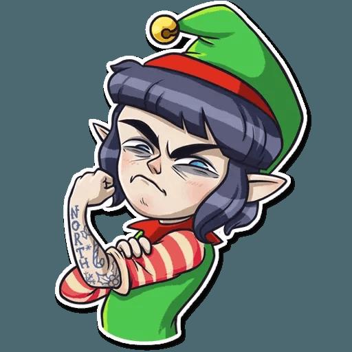 Santa's Little Helper - Sticker 9