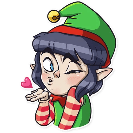Santa's Little Helper - Sticker 2