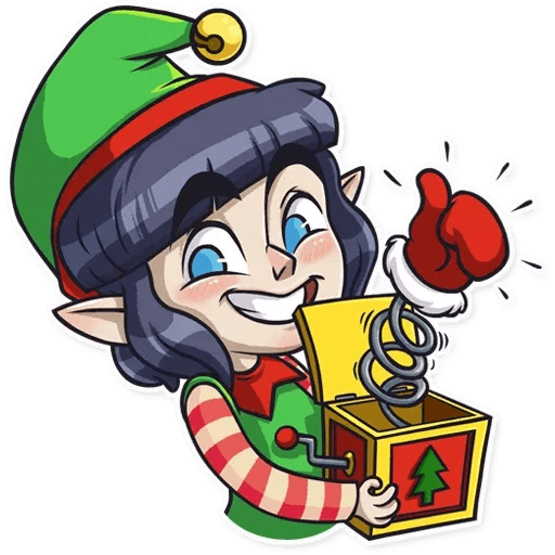 Santa's Little Helper - Sticker 3