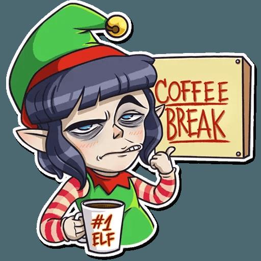 Santa's Little Helper - Sticker 10