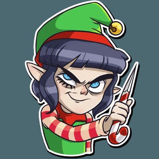 Santa's Little Helper - Sticker 11