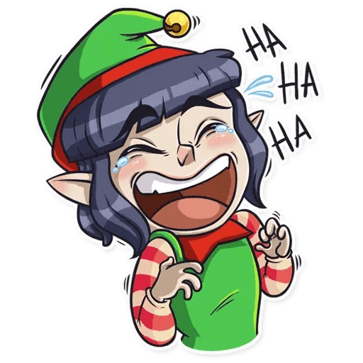 Santa's Little Helper - Sticker 1
