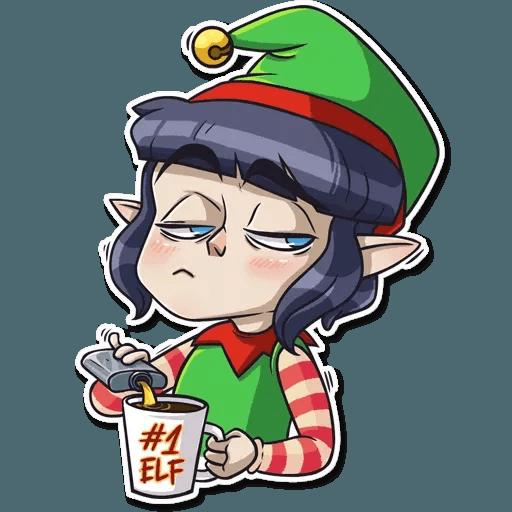 Santa's Little Helper - Sticker 19