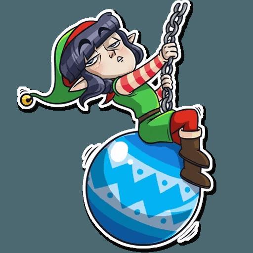 Santa's Little Helper - Sticker 25