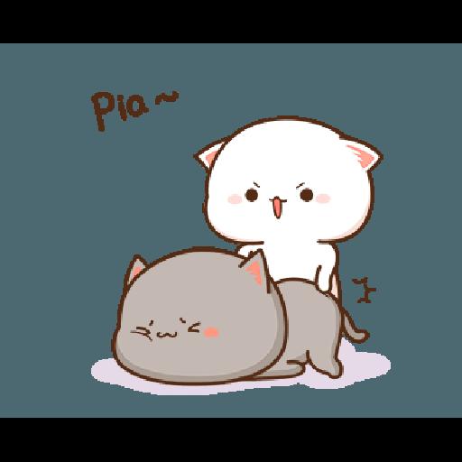 桃子猫1 - Sticker 25