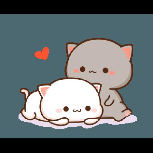 桃子猫1 - Sticker 8
