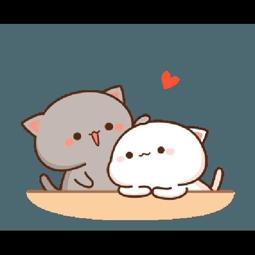 桃子猫1 - Sticker 10