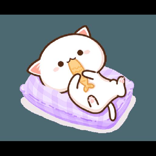 桃子猫1 - Sticker 4